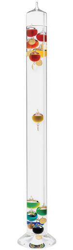 Grande Galileo Galilei Glass Thermometer 38 inch Floor XXL Extra Tall Hokco