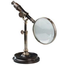 Magnifying Glass With Stand, Bronzed AC099E