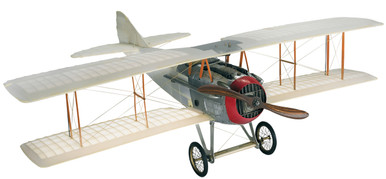 Spad Transparent Model Plane by Authentic Models AP413T