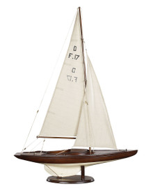 Dragon Olympic Sail Racer, French Finish AS078F