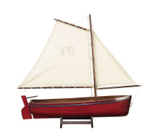 Sailboat Madeira Y9, Red AS140F