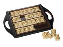 Authentic Models GR001F Dutch Renaissance Domino Game