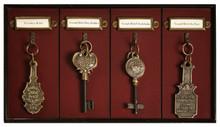 Authentic Models Grand Hotel Key Rack KC000