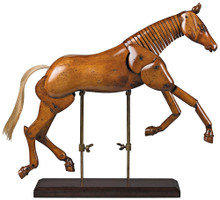 Large Articulated Artist Horse MG006F