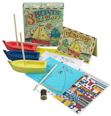 Three Boats In A Box Kit MS015A