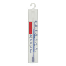 Freezer Fridge Cooler Thermometer 6 inch White Hokco
