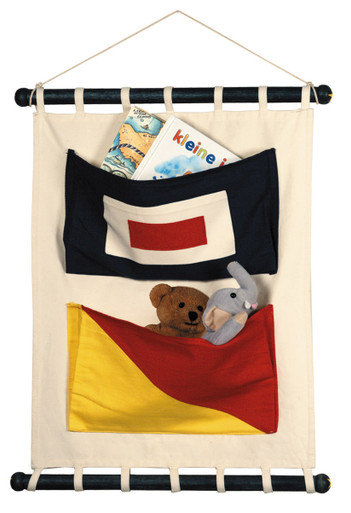 canvas flag wall pockets cc002 by