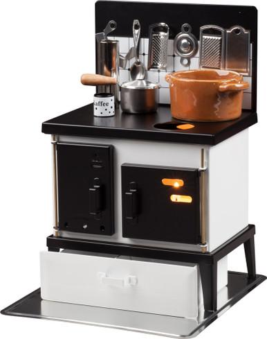 Incense Burner Kitchen Stove White/Black