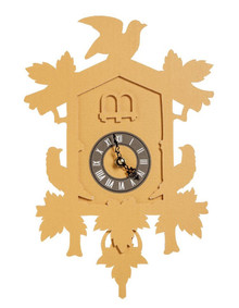 Flew The Coop Cuckoo Clock, small