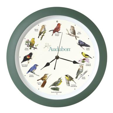 Audubon™ Singing Bird Clock 13 inch