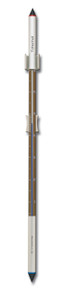 Analog Wall Thermometer Bronze Anodized Aluminum 34 inch tall by Hokco