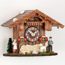 Heidi Farmhouse Cuckoo Clock with Cuckoo Chime