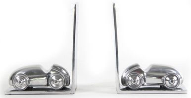 Aluminium Classic Car Bookends by Authentic Models KD001
