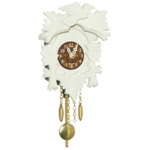 Design Cuckoo Clock, white