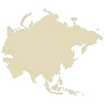 Asian Continent Antique Maps Icon