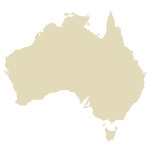 Australian Continent Antique Maps Icon