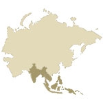 Southeast Asia Antique Map Icon