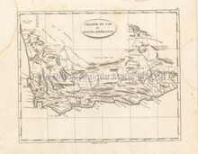 Cape Colony Africa Antique Map Pinkerton 1804