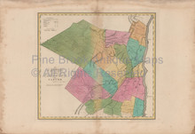 Ulster County New York Antique Map Burr 1829