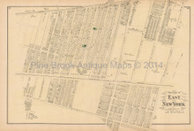 Canarsie New York Antique Map Beers 1873