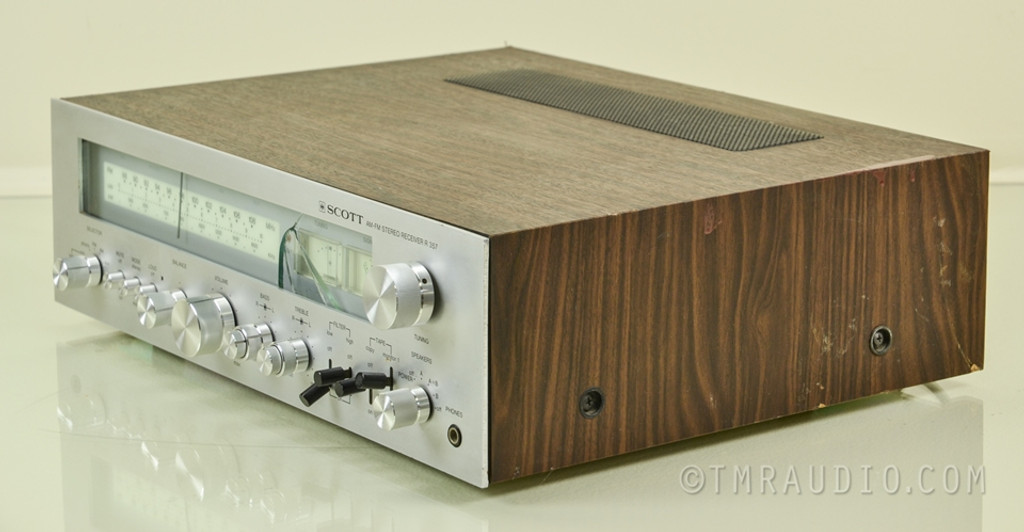 Scott R-357 Vintage AM / FM Stereo Receiver AS-IS