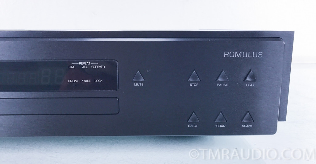 Aesthetix Romulus Eclipse CD Player / DAC; D/A Converter; Black