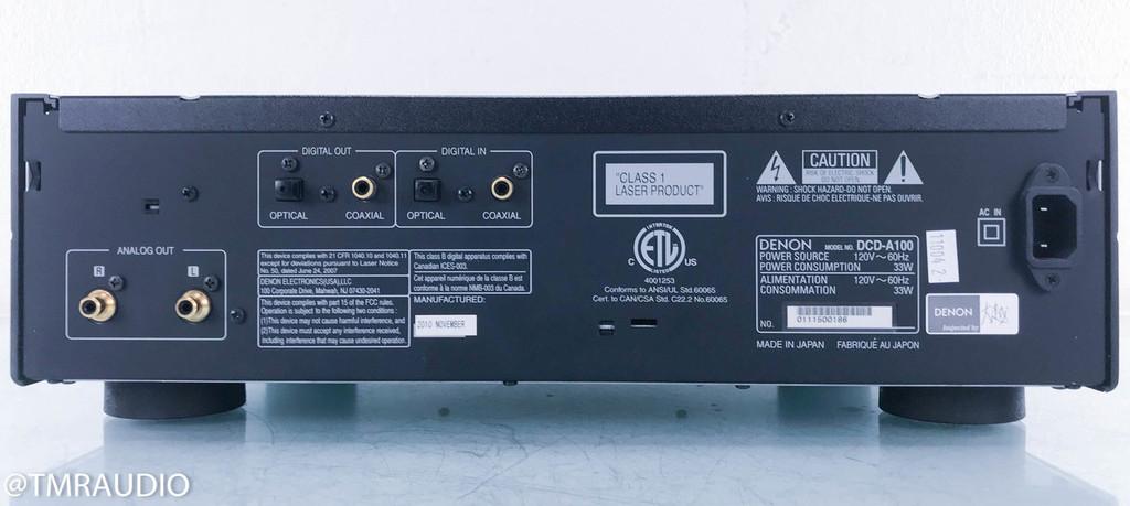 Denon DCD-A100; 100th Anniversary SACD / CD Player (2/2)