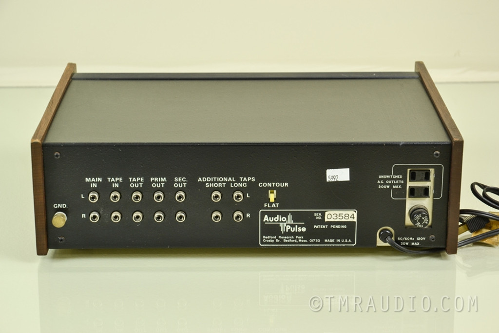 Audio Pulse Digital Time Delay System; Vintage Stereo Component