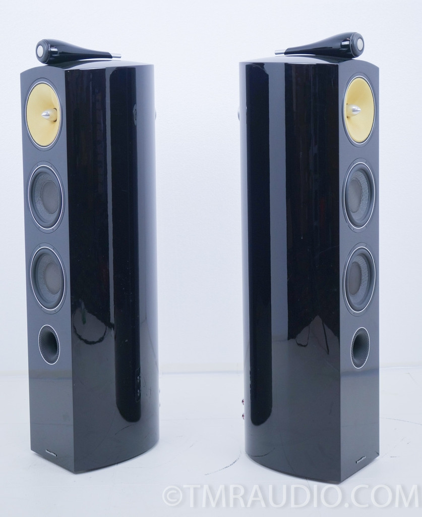 B&W 804d2 Floorstanding Speakers; Pair; Bowers & Wilkins