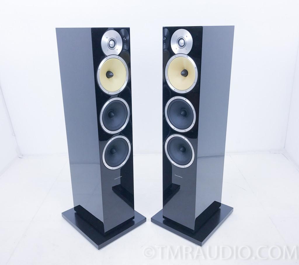 B&W CM9 Floorstanding Speakers; Gloss Black Pair; Bowers & Wilkins
