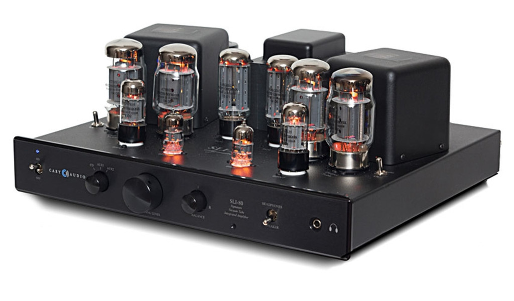 Cary SLI-80 Tube Integrated Amplifier; NEW; All upgrades