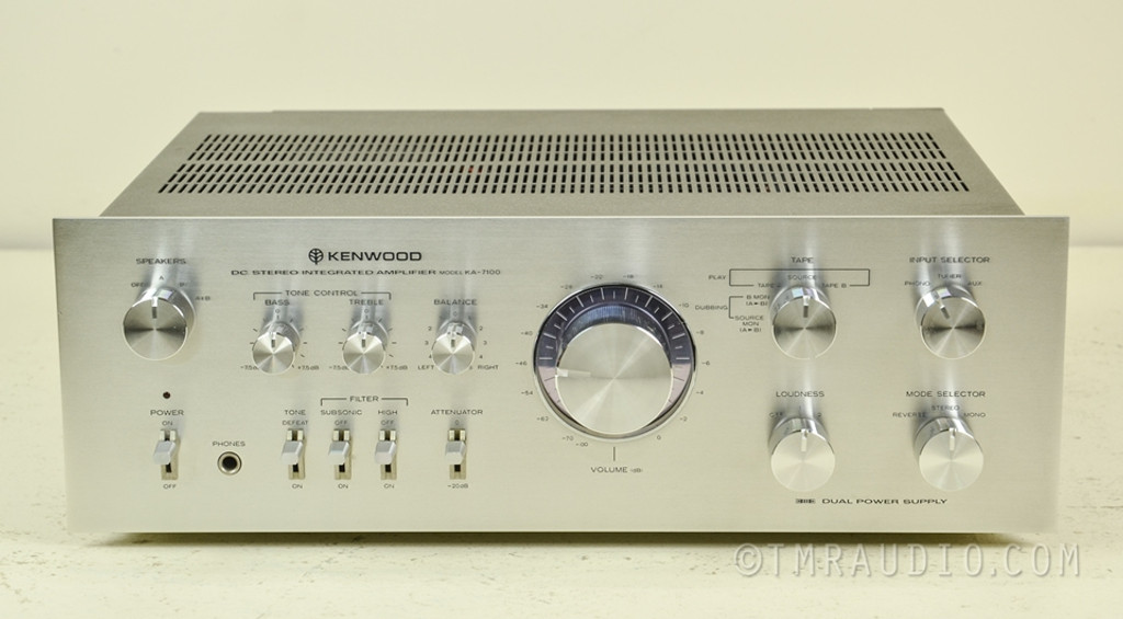 Kenwood KA-7100 Vintage Stereo Integrated Amplifier