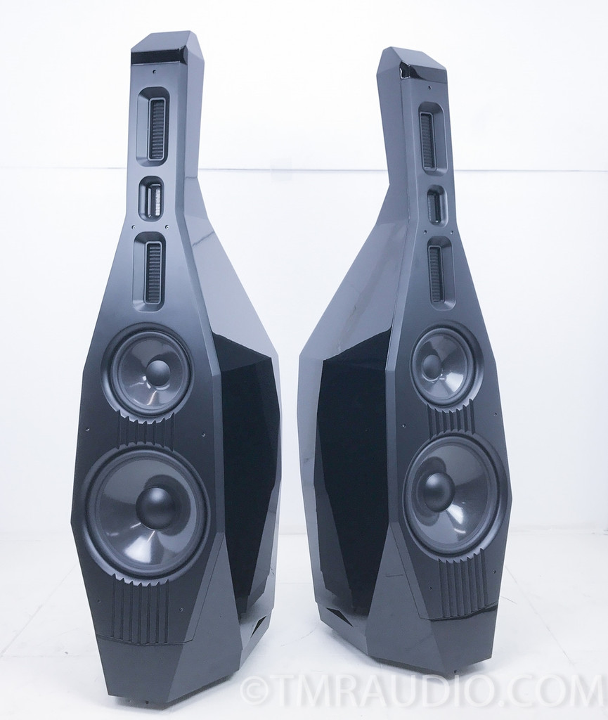 Lawrence Double Bass Floorstanding Speakers; Pair