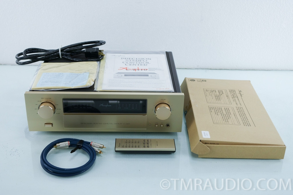 Accuphase C-2410 Stereo Preamplifier w/ Phono (Partial Payment)