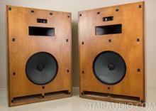 """Klipsch Cornwall Vintage Speakers; """"Decorator"""" Raw Birch Finish 1976"""
