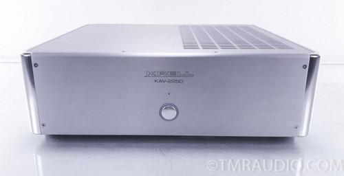 Krell KAV-2250 Stereo Power Amplifier; Silver