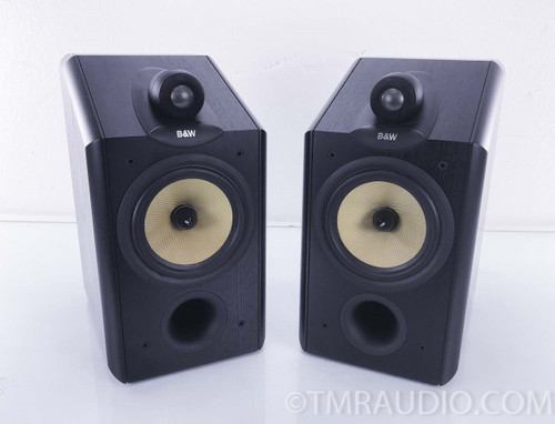 B&W CDM 1NT Bookshelf Speakers; Black Pair