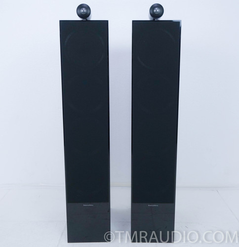 B&W CM10 S2 Floorstanding Speakers; Black; Pair