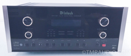 McIntosh MX151 Preamplifier / Surround Processor; MX-151