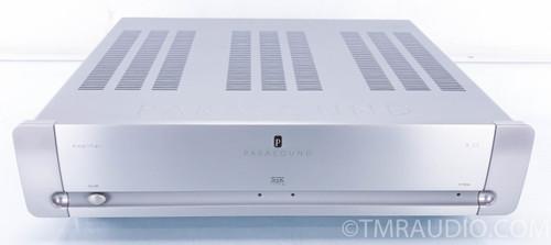 Parasound A23 Stereo Power Amplifier; Silver; A-23