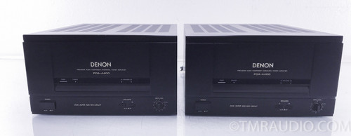Denon POA-4400 Mono Power Amplifiers; Pair