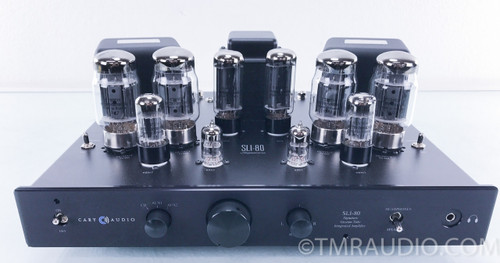 Cary SLI-80 Signature Stereo Tube Integrated Amplifier (200 hours; All Upgrades)