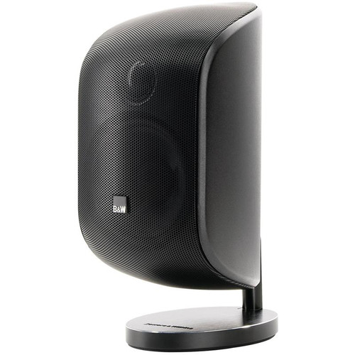 B&W M-1 Mini Theatre Satellite Speaker; Matte Black (New)
