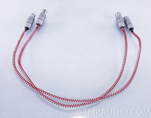 Anticables Level 4.0 Silver XLR Cables; .75m Pair Interconnects