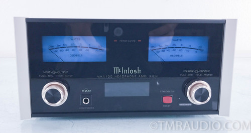McIntosh MHA100 Integrated Headphone Amplifier; DAC