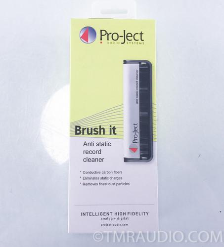 Pro-Ject Brush It Anti-static Record Cleaner; Carbon Fiber Record Brush