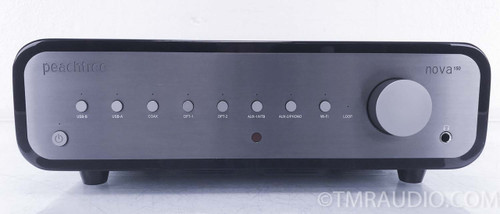 Peachtree Audio Nova150 Stereo Integrated Amplifier w/ DAC; Piano Black 1