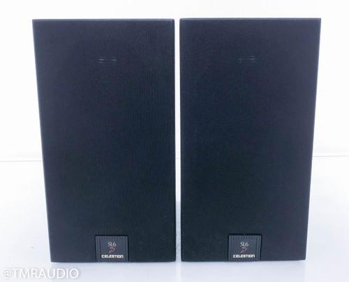 Celestion SL6 Si Bookshelf Speakers; Black Pair