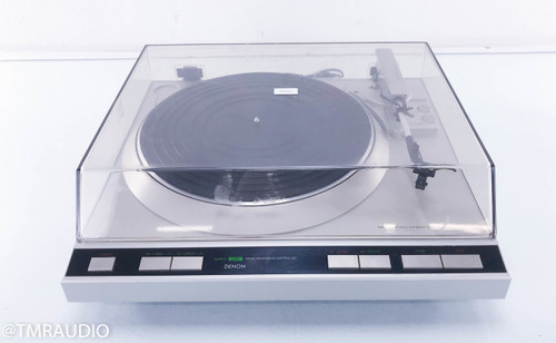 Denon DP-35F Vintage Turntable; Grado ZF1 Cartridge