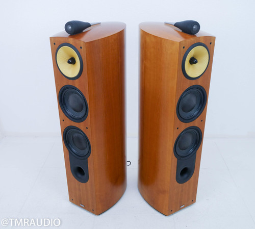 B&W Nautilus 803 Floorstanding Speakers; Cherrywood Pair; Bowers & Wilkins